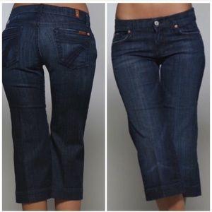 7FAM Dojo cropped jeans